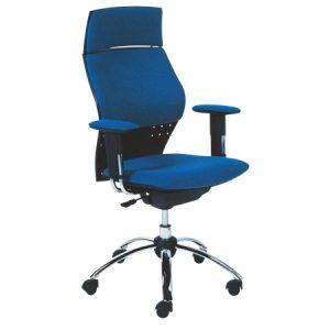 Sedia ergonomica design moderno blu