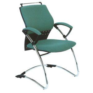 Sedia cantilever con schienale basso