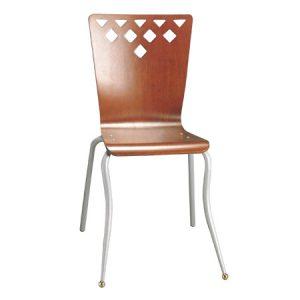 Sedia elegante in legno massello