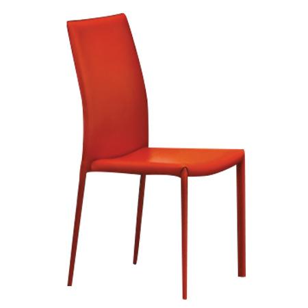 Sedia moderna in ecopelle disponibile in diverse colorazioni