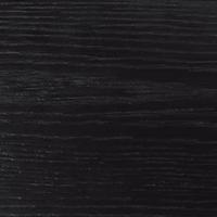 Legno laccato nero