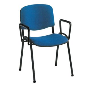 Conference chair with armrests