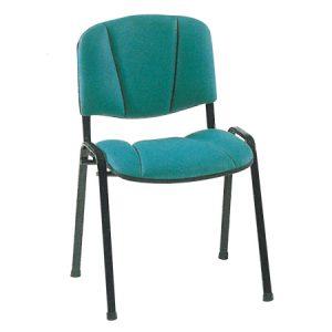 Sedia sala d'aspetto ergonomica
