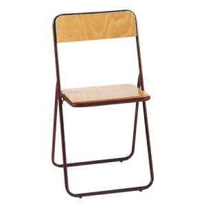 Classica sedia pieghevole